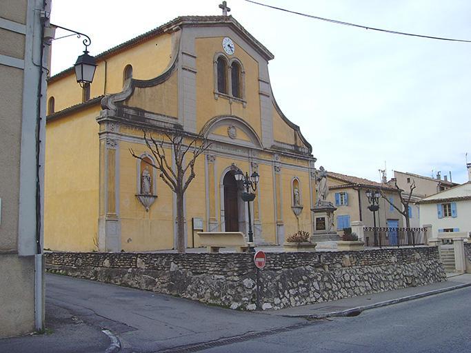 Monument commémoratif à Laurent Imbert, église paroissiale de Calas
