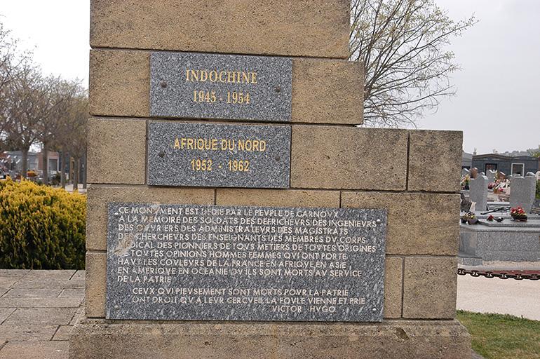 Monument commémoratif aux morts d'Outre-Mer