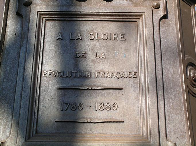 Monument du centenaire de la Révolution