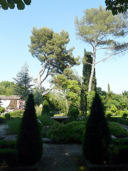 Jardin de l'hôtel du Pigonnet