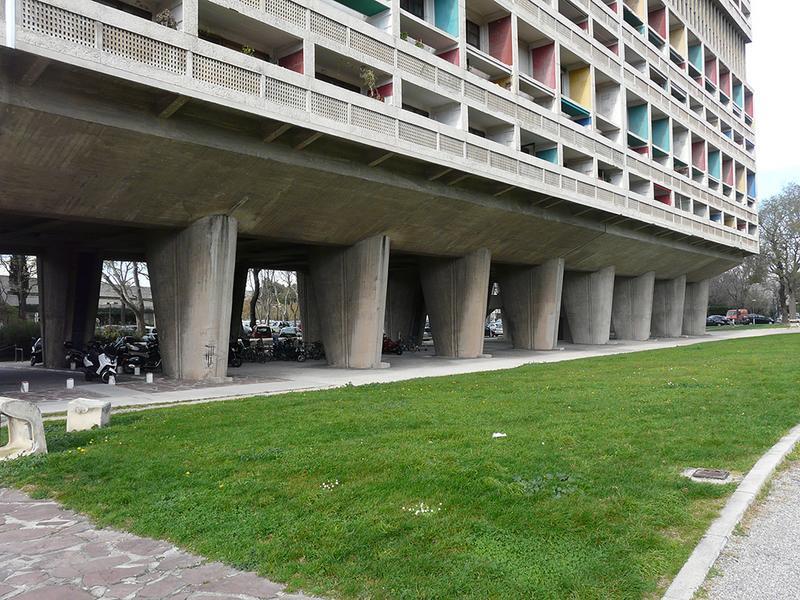Unité d'habitation Le Corbusier, dite Cité Radieuse