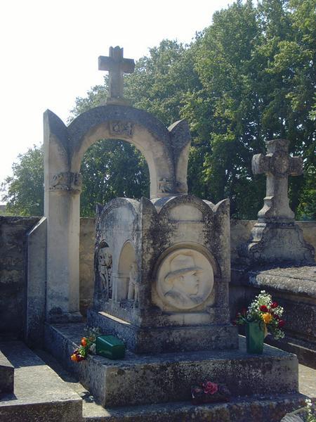 Tombe de Charles Rieu