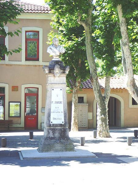 Monument commémoratif à Paul Borde