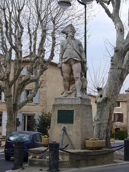 Monument au bailli de Suffren