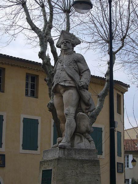 Monument commémoratif au bailli de Suffren