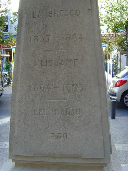 Monument à Antoine-Blaise Crousillat