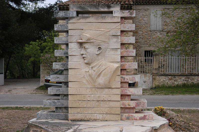 Monument au général Leclerc