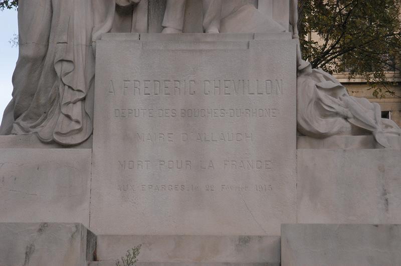Monument à Frédéric Chevillon