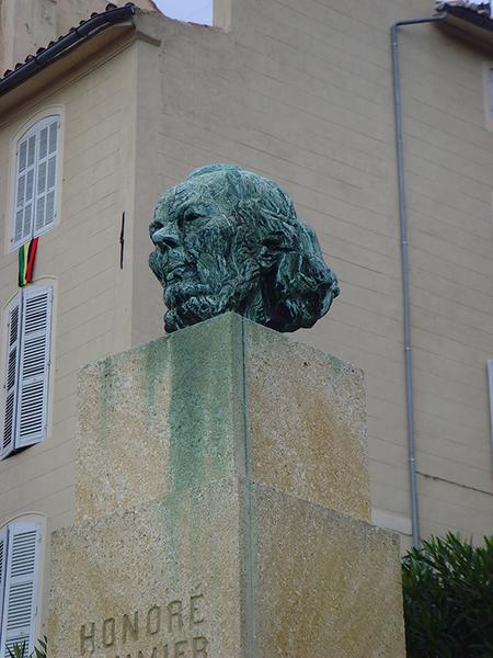 Monument à Honoré Daumier