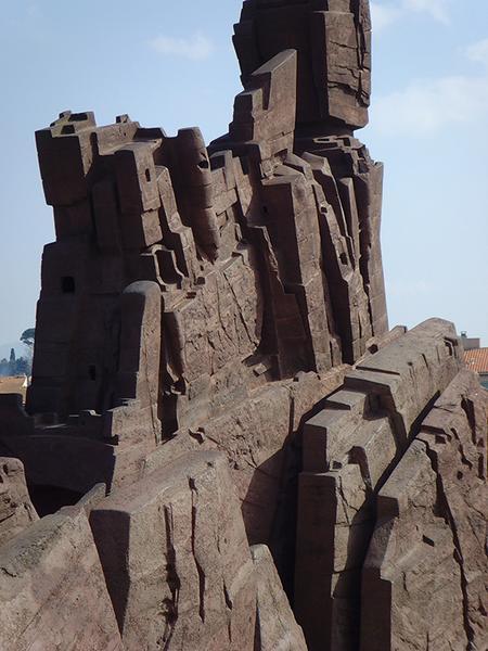Monument à Arthur Rimbaud, le bâteau ivre