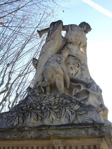 Monument commémoratif aux victimes de 1851, à Bidouré