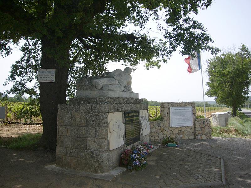 Monument aux résistants fusillés du Bésillon