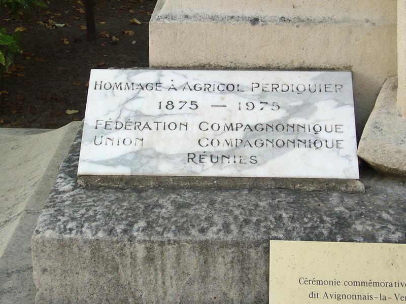 Monument commémoratif à Agricol Perdiguier