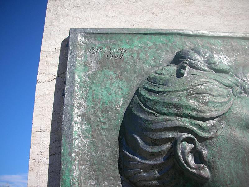 Monument commémoratif à Moricelly