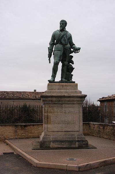 Monument commémoratif au brave Crillon