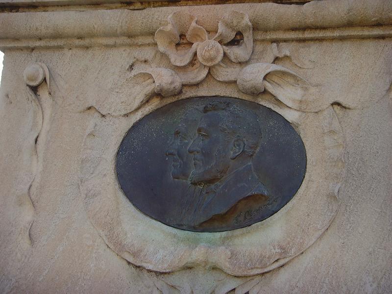 Monument commémoratif à Alphonse Benoit, fontaine