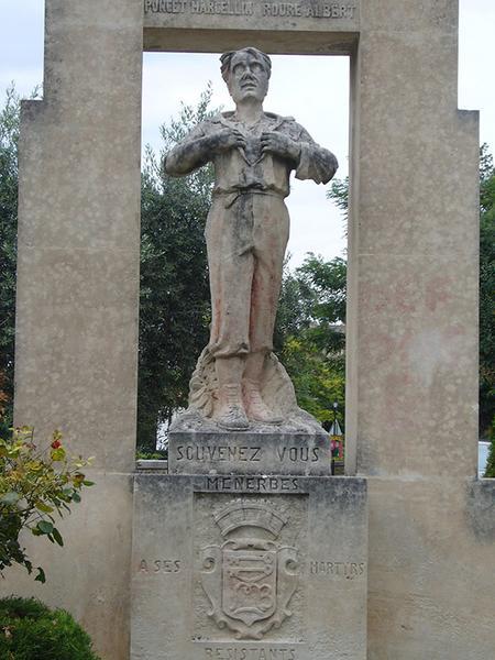 Monument commémoratif à des résistants