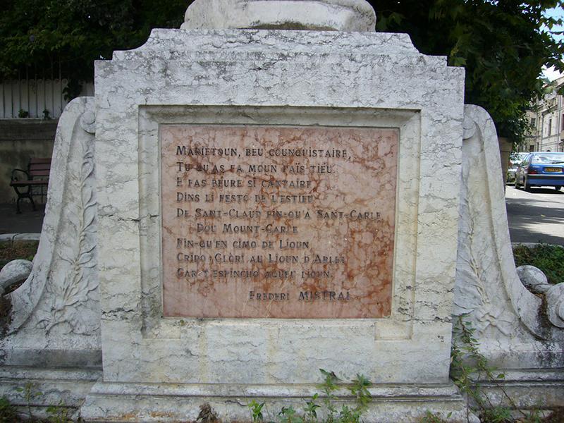 Monument commémoratif à Paul Mariéton