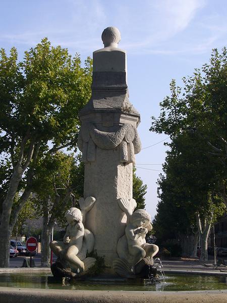 Monument commémoratif, fontaine Morel