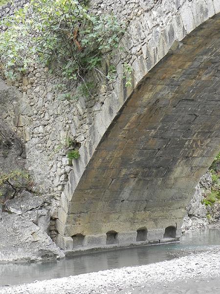 Pont sur le Jabron