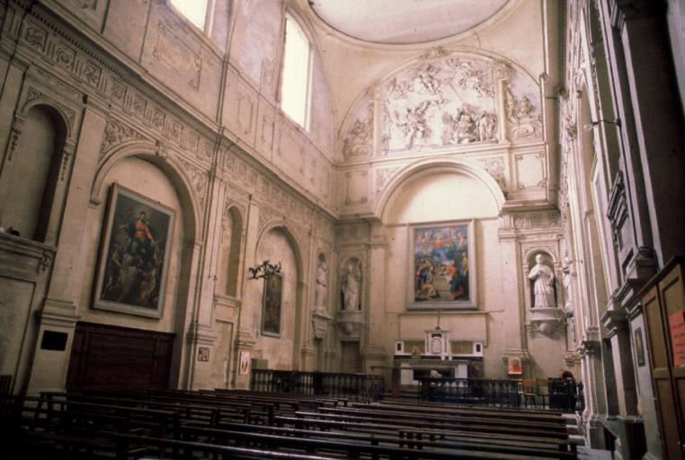 Couvent des Bénédictines et des Ursulines (ancien), collège Mignet (actuel), chapelle des Andrettes