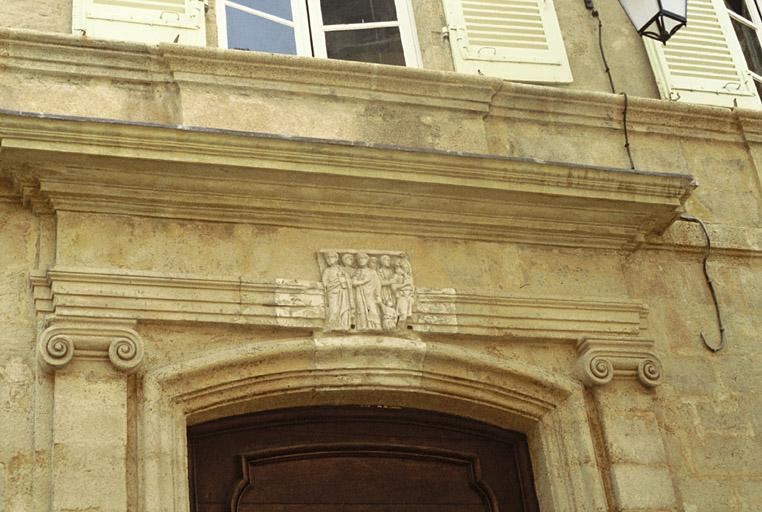 maison dite hôtel Silvy ou hôtel Ripert de Monclar ou hôtel Bourguignon de Fabregoules