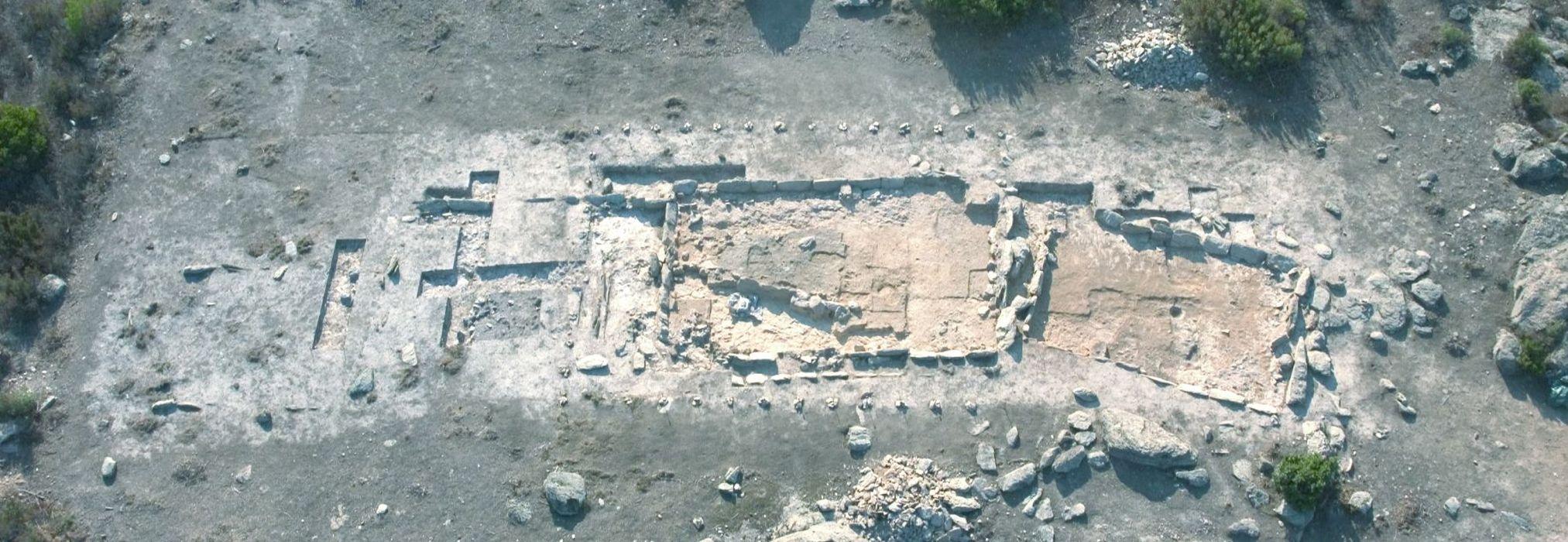 unité d'habitation 8 (Secteur III), vue zénithale (document photocopié provenant du dossier de protection)