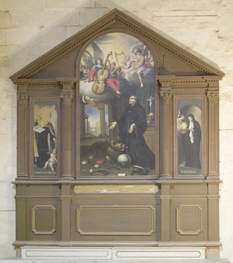 Tableau (triptyque) : saint Nicolas de Tolentin