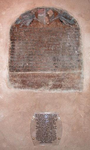 Plaques commémoratives (2)