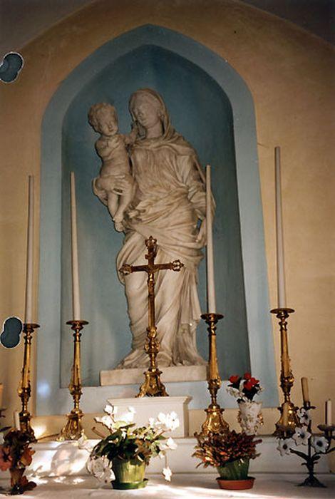 Statue grandeur nature : Vierge à l'Enfant n°1