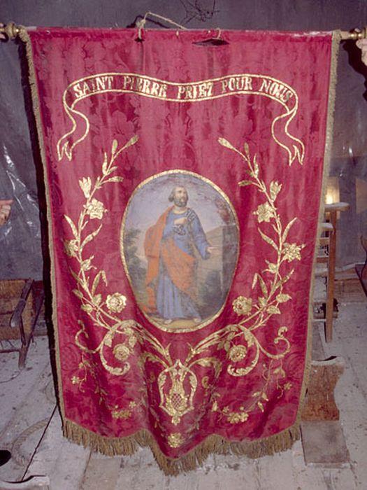Bannière de procession : Saint Pierre