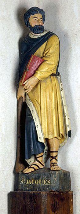 Statue petite nature : Saint Jacques