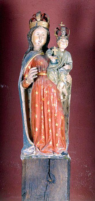 Statue demi-nature : Vierge à l'Enfant 1