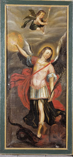 tableau   L'Archange Saint Michel