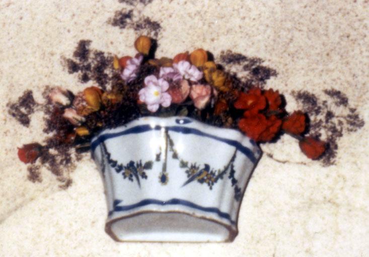 vase à fleurs, vue générale