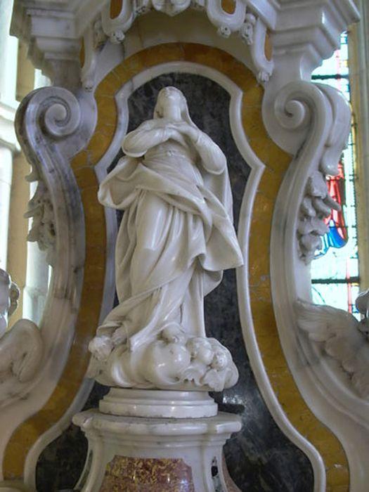 statue : l'Assomption de la Vierge