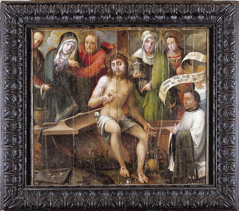 tableau : Christ aux cinq plaies (Le)