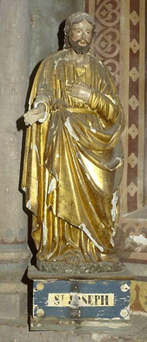 statue demi-nature : saint Joseph