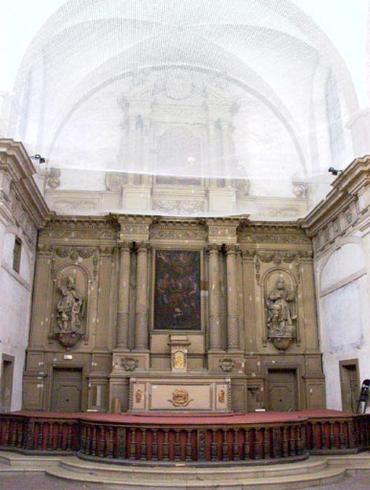 Ensemble : maître-autel (autel, retable)