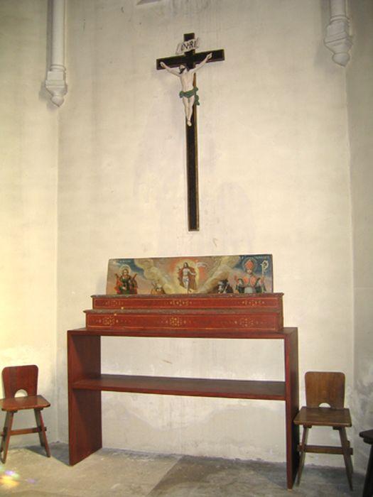 retable de la Résurrection, saint André et saint Benoît