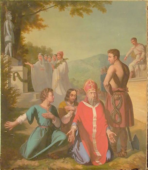 tableau : Episode de la vie de saint Denis