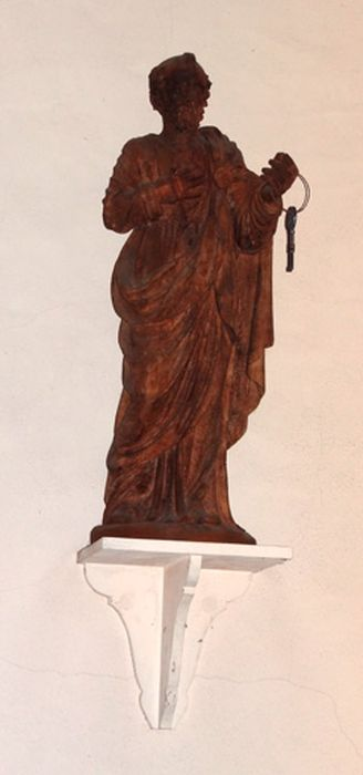 Statue petite nature : Saint Pierre