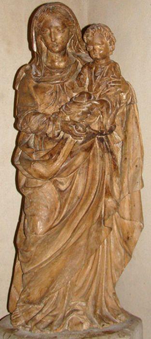 Statue petite nature : Vierge à l'Enfant n°2