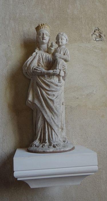 Statue demi-nature : Vierge à l'Enfant n°1