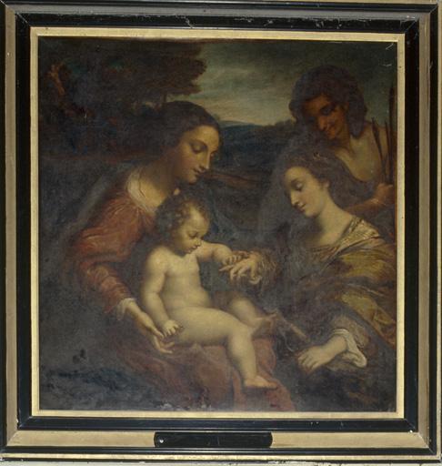tableau Mariage mystique de sainte Catherine