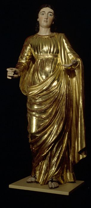 statue petite nature : Sainte Agathe