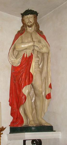 Statue figure grandeur naturelle : Christ aux liens ou Ecce Homo