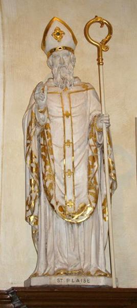 Statue petite nature : saint Blaise