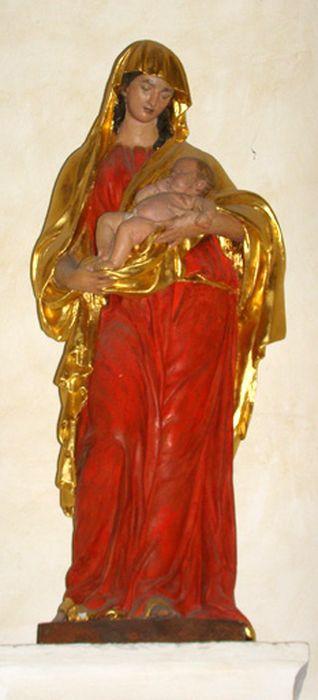 Statue petite nature : Vierge à l'Enfant