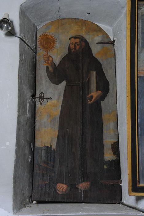 vantail (volet de fenêtre): Saint Bernadin de Sienne, vue générale